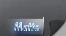 Matt fekete, fehér vagy színes fóliák széles választéka.